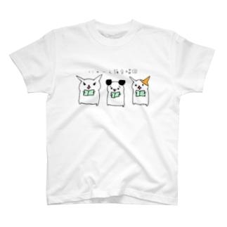 にゃーん猫合唱団 T-shirts