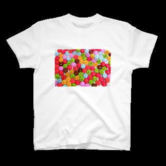 3pondSのかおかし・マーブルチョコ T-shirts