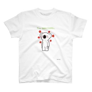 幸せそうだね♪ T-shirts