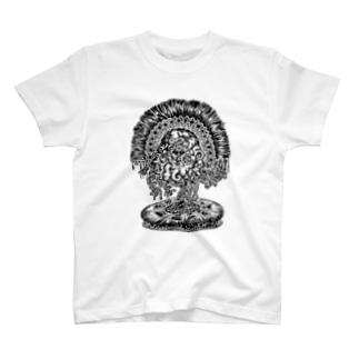 しらこのようなやつ T-shirts