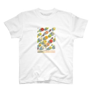 果汁 T-shirts