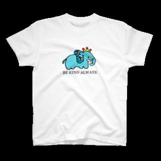 CastleGateのゾウ(カラー) T-shirts