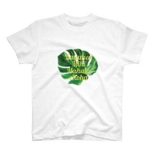 ホ・オポノポノ(Leaf) T-shirts
