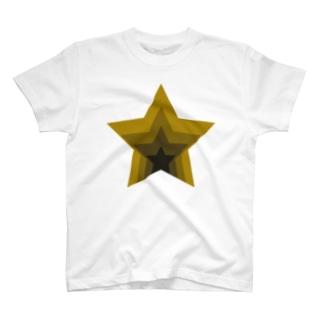 星のくぼみ T-shirts