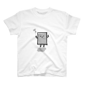 こんにゃくぬりかべくん T-shirts
