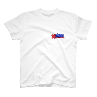 Zoltax. グラフィティ ロゴ トリコロール T-shirts