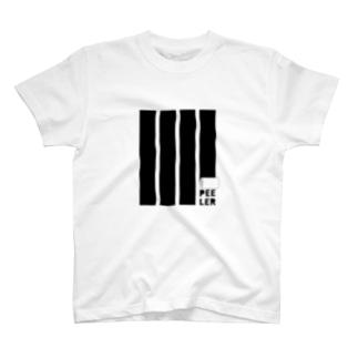 PEELER-08(BK) Tシャツ