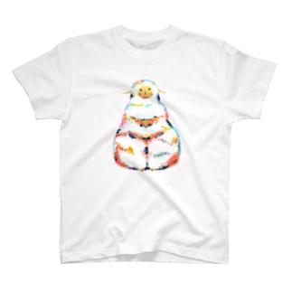 カラフルひつじ T-shirts