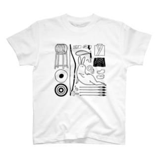 弓道ライフ T-shirts