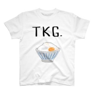 ごはんオンザエッグ T-shirts