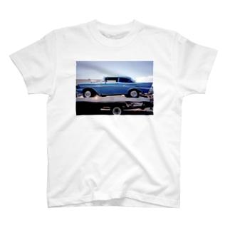 アメリカン  ビンテージカー T-shirts