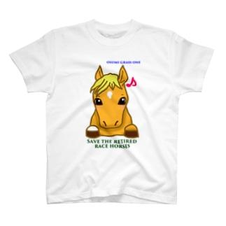 飄々グラスワン T-shirts