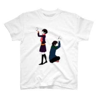 赤い糸 T-shirts