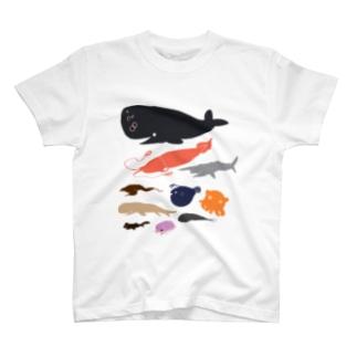 深海生物っ T-shirts
