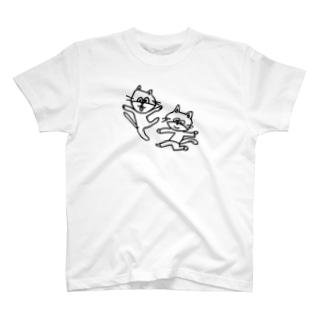 ねこレンジャー T-shirts