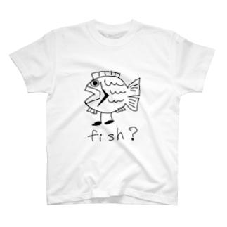 魚のようなもの T-shirts