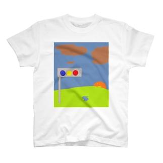 うさてぃんの夕暮れ T-shirts