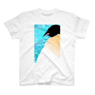 どっしりコウテイペンギン T-shirts