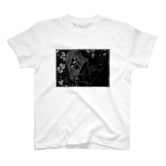 Mulberry Girl ~Black back~ T-shirts