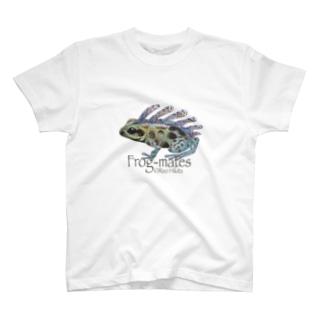 カエルメイト(Frog-mates)より「セビレガエル」 T-shirts