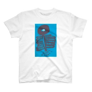 原始vol.5 いきもののようなものカラー3 T-shirts