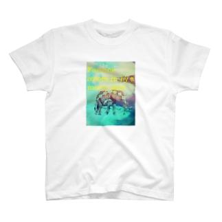 【開運】木星と象 2 T-shirts