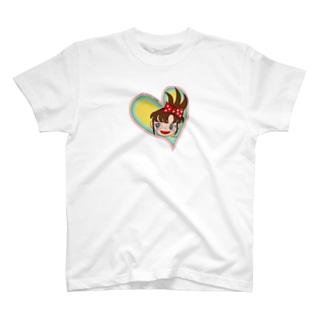 ハートの台子 T-shirts