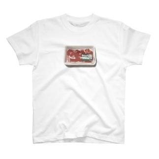 倉持リネンの物販の切り落とし肉 T-shirts