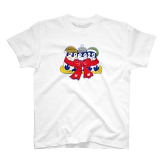 るりんごむのりぼんぺんぎん T-shirts