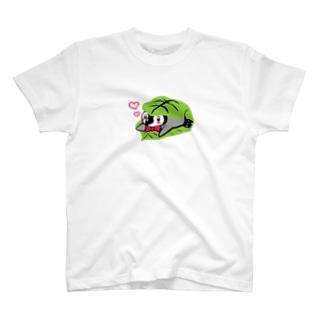 かしわもちぺんぎん T-shirts