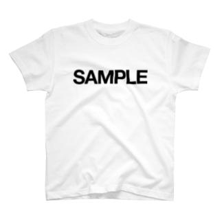 SAMPLE|サンプル T-shirts