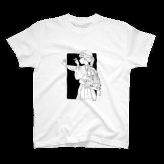 ツヅキエイミ goods shopのまだ撮らないで! T-shirts