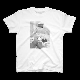 ツヅキエイミ  オリジナルグッズショップのゲームオーバーだよ T-shirts