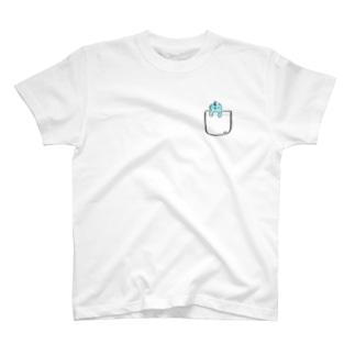 オバ吉くんニセポケ T-shirts