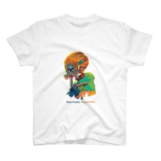 カラフルガスマスク T-shirts