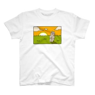 感傷に浸る猫ちゃん T-shirts