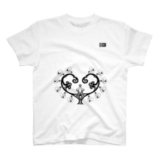 母胎(黒) T-shirts