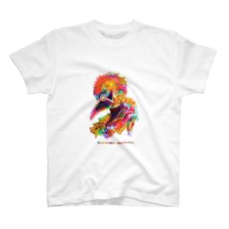 カラフルペストマスク T-shirts