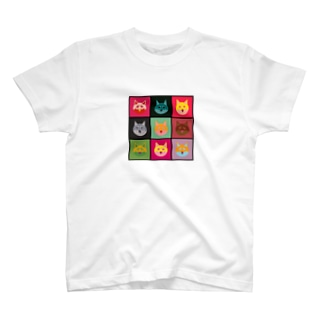 柴犬×アンディ・ウォーホル T-shirts