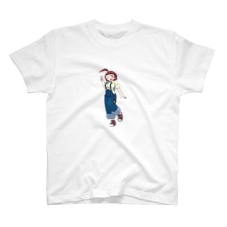 レゴ娘のピース T-shirts