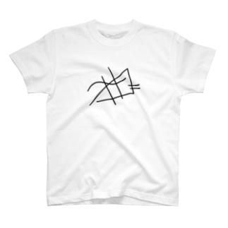 ライン T-shirts