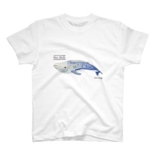 夢見るシロナガスクジラ T-shirts