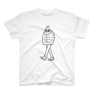 厚着のねこ T-shirts