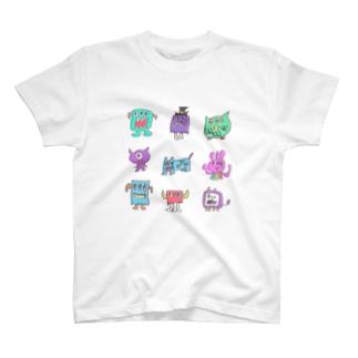 イケイケモンスターズ T-shirts