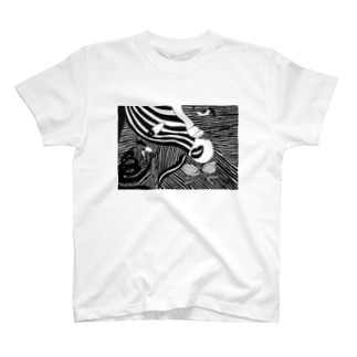 蛇にらみ T-shirts