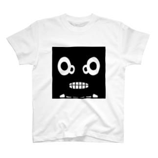 【 黒鬼: Black demon 】WFドアップ Tシャツ