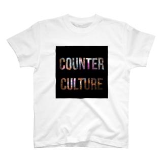 カウンターカルチャー T-shirts