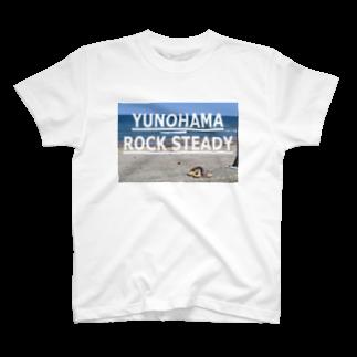 SANGOLOWARTZのYUNOHAMA ROCK STEADY T-shirts