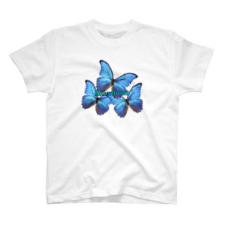 Blue:Bomb🦋 T-shirts
