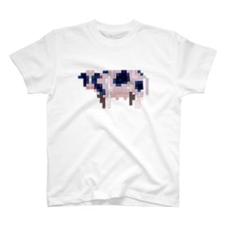 近未来ウシ Tシャツ